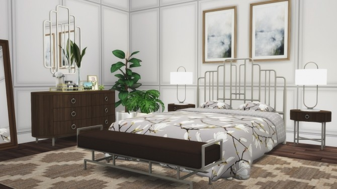 Ophelia Bedroom Suite at Simsational Designs image 2871 670x377 Sims 4 Updates