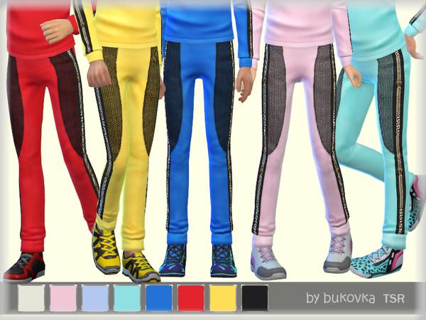 Sims 4 Pants Child by bukovka at TSR