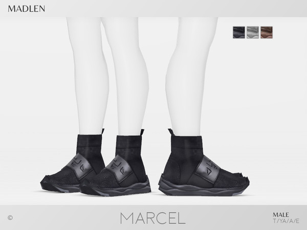 Sims 4 Madlen Marcel Shoes M by MJ95 at TSR
