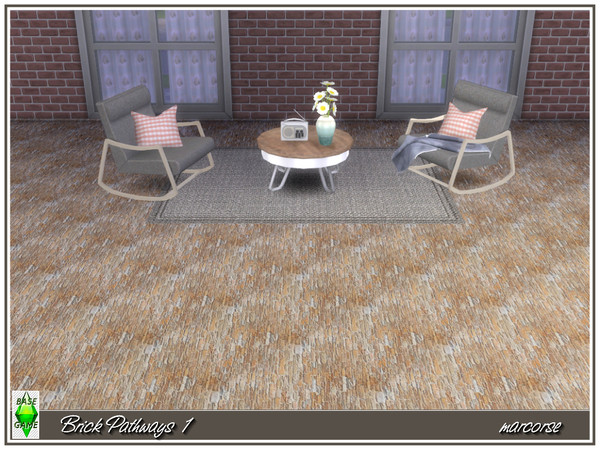 Brick Pathways by marcorse at TSR image 3 Sims 4 Updates