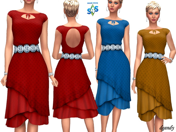 Dress 201904 01 by dgandy at TSR image 3015 Sims 4 Updates