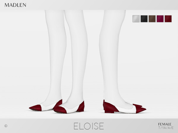 Sims 4 Madlen Eloise Shoes by MJ95 at TSR