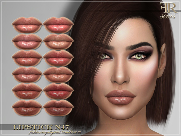 FRS Lipstick N47 by FashionRoyaltySims at TSR image 311 Sims 4 Updates