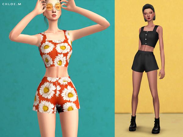 Shorts by ChloeMMM at TSR image 3124 Sims 4 Updates