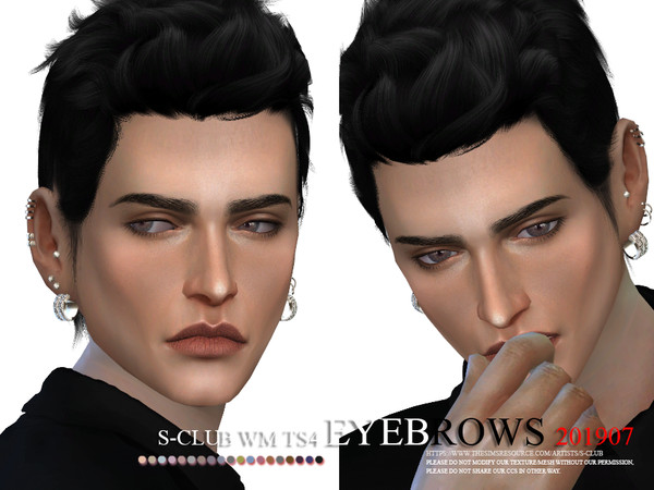 Eyebrows 201907 by S Club WM at TSR image 313 Sims 4 Updates