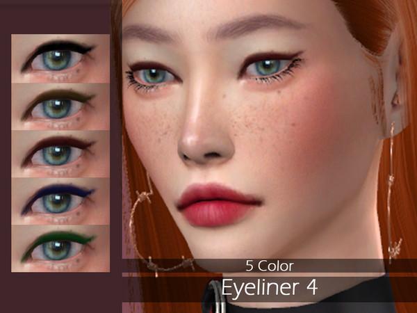 Sims 4 LMCS Eyeliner 4 by Lisaminicatsims at TSR