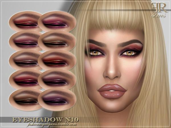 FRS Eyeshadow N10 by FashionRoyaltySims at TSR image 324 Sims 4 Updates