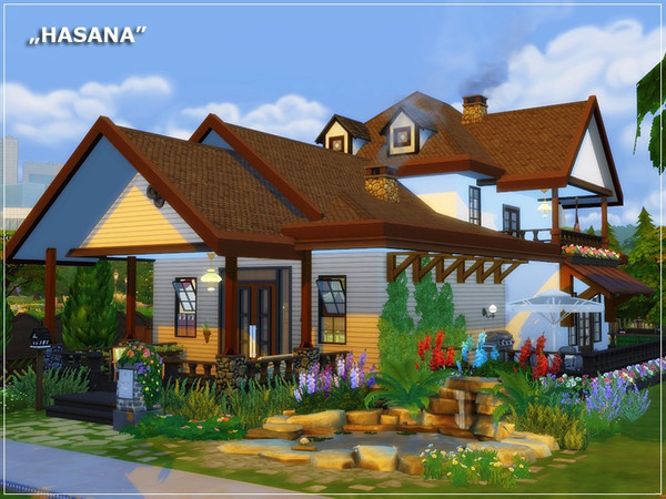 HASANA traditional house by marychabb at TSR image 340 Sims 4 Updates