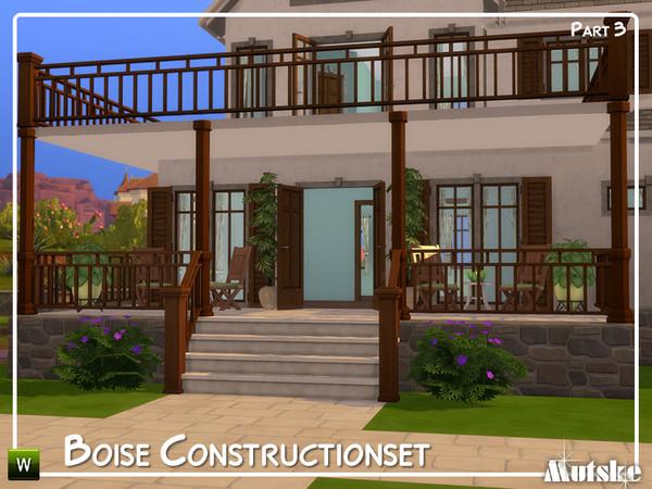 Sims 4 Boise Construction set Part 3 by mutske at TSR