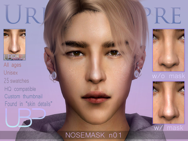 Sims 4 Nosemask N01 by Urielbeaupre at TSR
