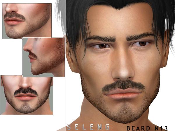 Sims 4 Beard N13 by Seleng at TSR