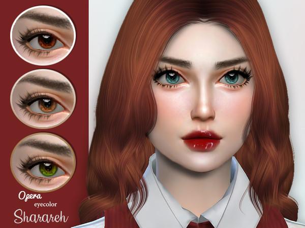 Sims 4 Opera eyes by Sharareh at TSR