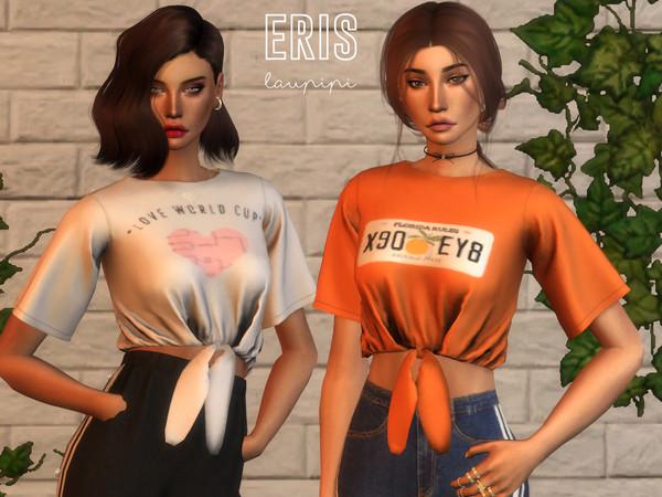 Eris t shirt by laupipi at TSR image 3921 Sims 4 Updates