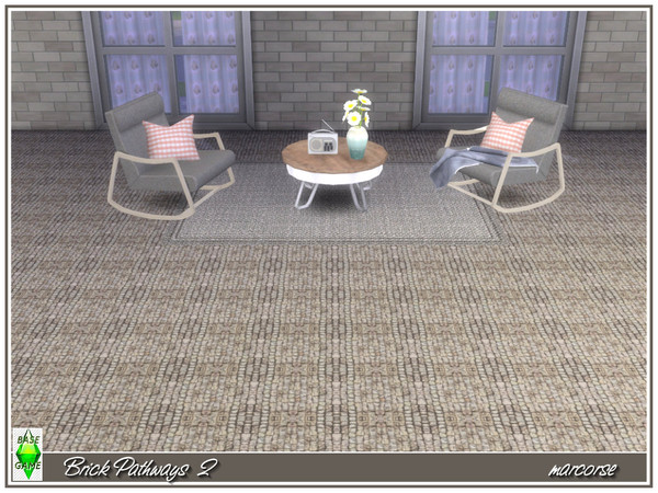 Brick Pathways by marcorse at TSR image 4 Sims 4 Updates