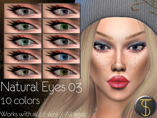 Natural Eyes 03 by turksimmer at TSR image 40 Sims 4 Updates