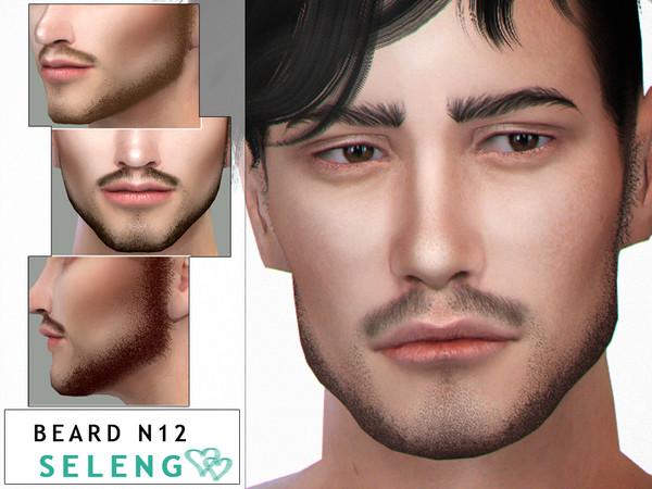 Sims 4 Beard N12 by Seleng at TSR