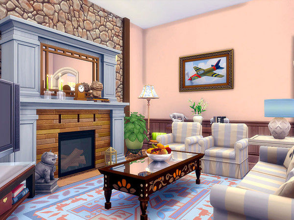 The Orange Tree house by sharon337 at TSR image 412 Sims 4 Updates