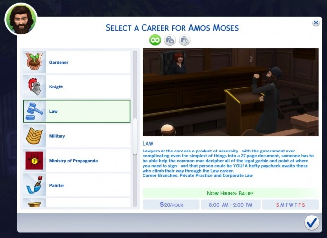New Career for Private Practice Mod The Sims 4 by t