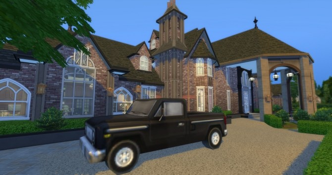 Sims 4 Ledson Winery & Vineyard NO CC by wouterfan at Mod The Sims