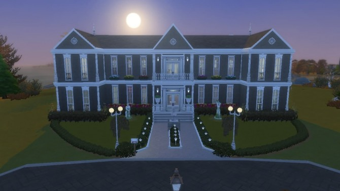 Sims 4 Seaside manor by Augustas at Mod The Sims