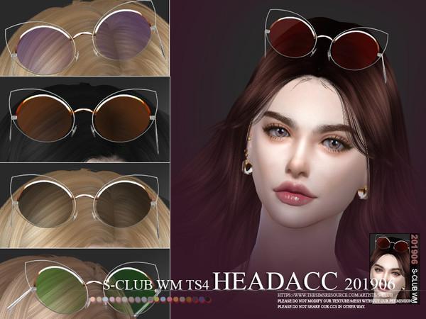 Sims 4 Headacc 201906 sunglasses by S Club WM at TSR