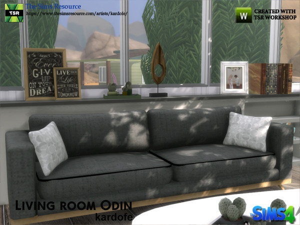Sims 4 Living room Odin by kardofe at TSR