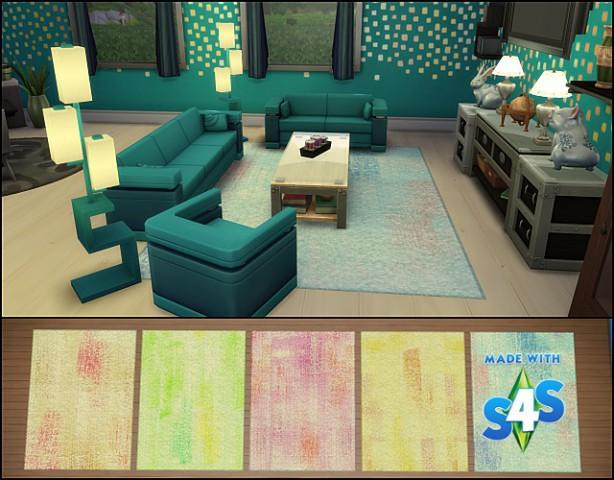 Watercolors rugs by Meryane at Beauty Sims image 4912 Sims 4 Updates