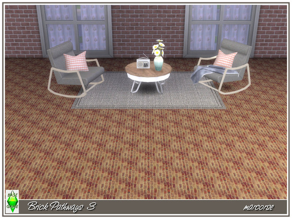 Brick Pathways by marcorse at TSR image 5 Sims 4 Updates