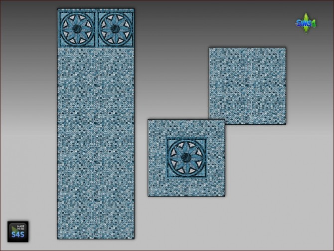 Pool tiles for walls and floors by Mabra at Arte Della Vita image 5013 670x503 Sims 4 Updates