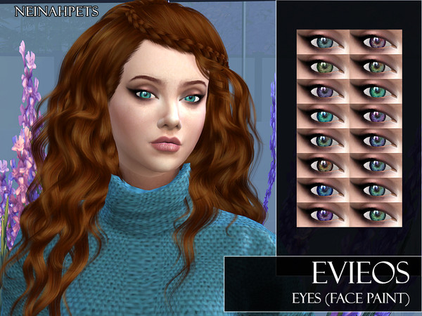 Sims 4 Evieos Eyes by neinahpets at TSR