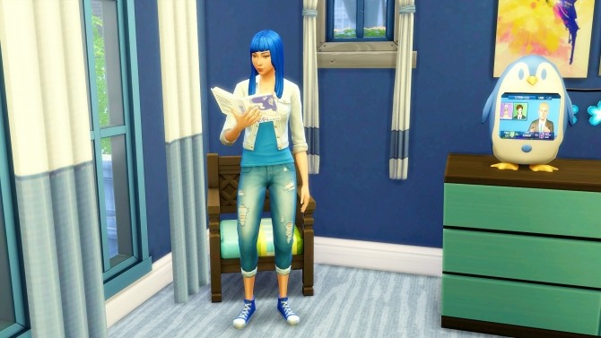 Sims 4 Amy Charleston by Angerouge at Studio Sims Creation