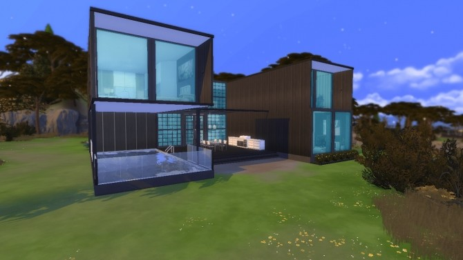 Container house no CC by Augustas at Mod The Sims image 5216 670x377 Sims 4 Updates