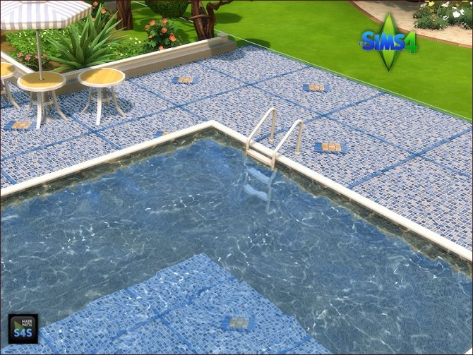 Pool tiles for walls and floors by Mabra at Arte Della Vita image 5312 670x503 Sims 4 Updates