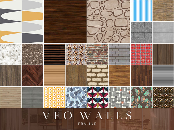 VEO Walls by Pralinesims at TSR image 5320 Sims 4 Updates