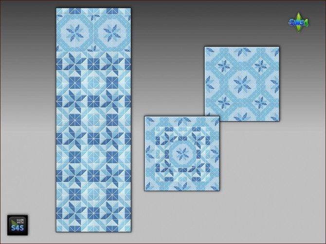 Pool tiles for walls and floors by Mabra at Arte Della Vita image 5411 670x503 Sims 4 Updates