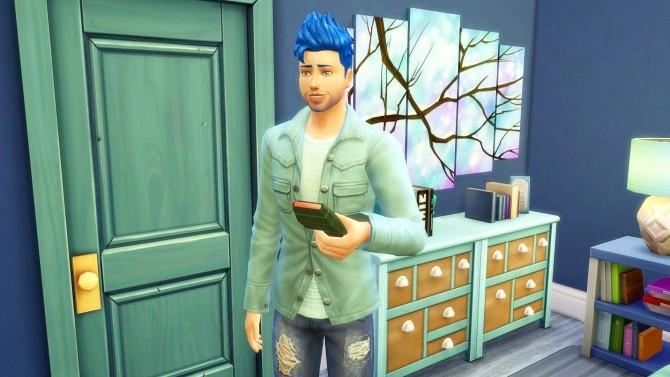 Sims 4 Cyan Aqua at Studio Sims Creation