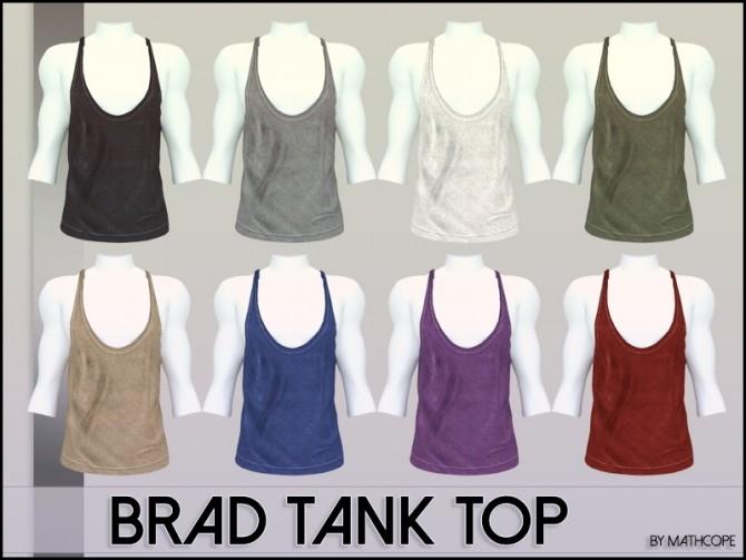 Brad tank top by Mathcope at Sims 4 Studio image 5511 670x503 Sims 4 Updates