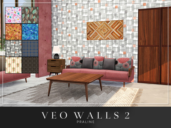 VEO Walls by Pralinesims at TSR image 5521 Sims 4 Updates