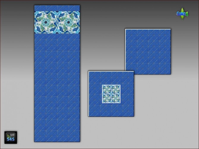 Pool tiles for walls and floors by Mabra at Arte Della Vita image 56111 670x503 Sims 4 Updates