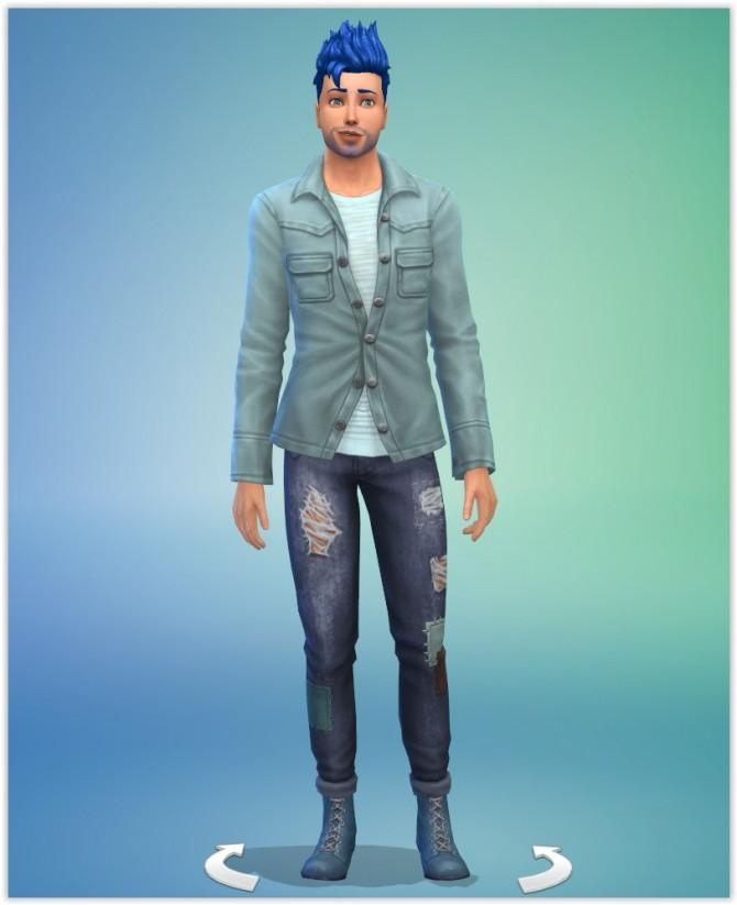 Cyan Aqua at Studio Sims Creation image 563 670x823 Sims 4 Updates