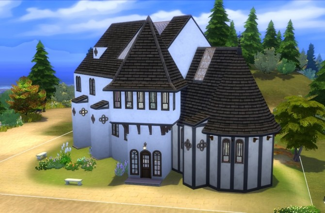 White Chapelle by valbreizh at Mod The Sims image 564 670x439 Sims 4 Updates