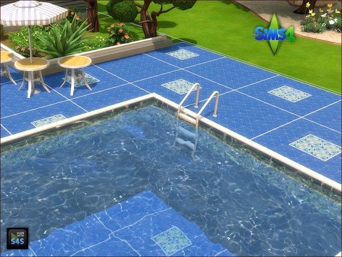 Pool tiles for walls and floors by Mabra at Arte Della Vita image 5711 670x503 Sims 4 Updates