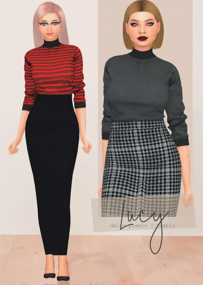 Lucy Top at Daisy Pixels image 5715 670x937 Sims 4 Updates