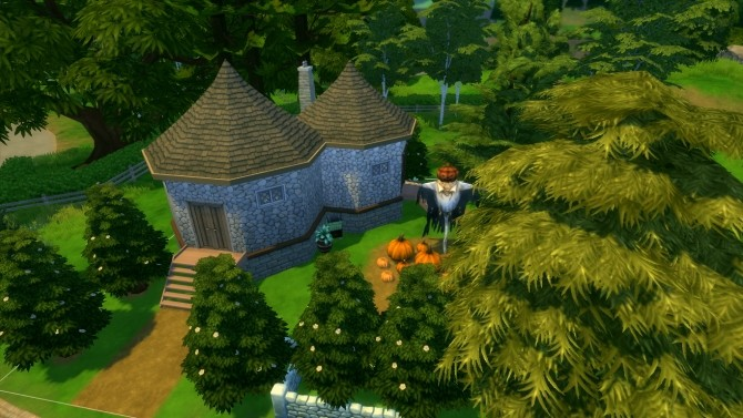 Hagrids hut Harry Potter builds by iSandor at Mod The Sims image 5719 670x377 Sims 4 Updates