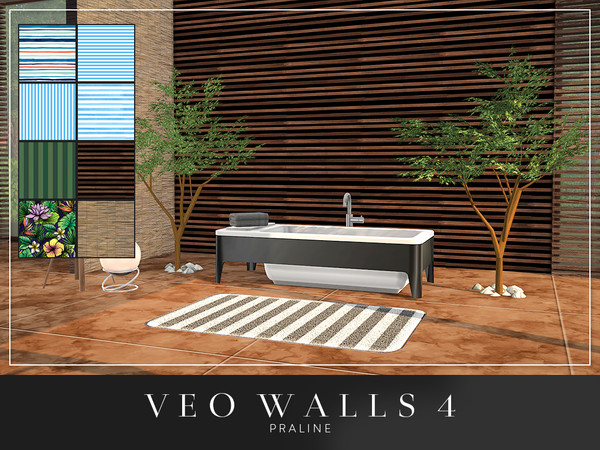 VEO Walls by Pralinesims at TSR image 5720 Sims 4 Updates