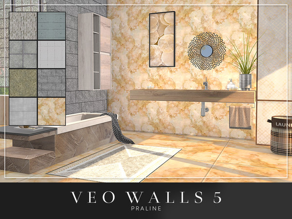 VEO Walls by Pralinesims at TSR image 5820 Sims 4 Updates