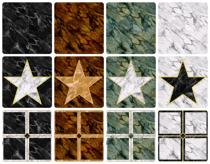 Sims 4 The ULTIMATE Stone Collection by simsi45 at Mod The Sims