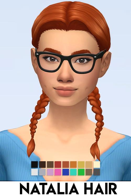 Sims 4 NATALIA HAIR at Vikai