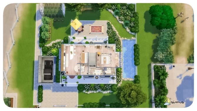 Sims 4 BLUEBELL AVENUE at Luna Sims