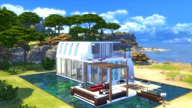 Sims 4 Villa Marine by valbreizh at Mod The Sims